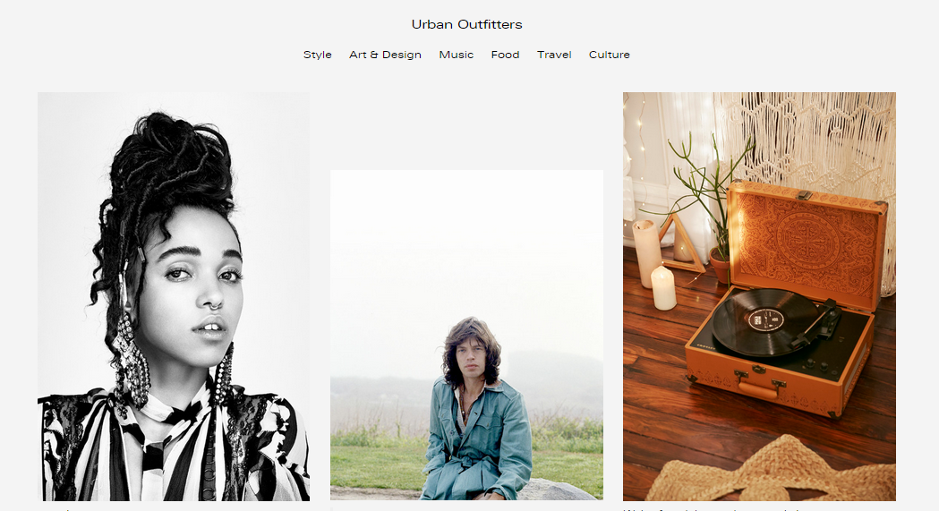 Fashion brands, Tumblr and Millennials – Urban Outfitters good, Dior meh.