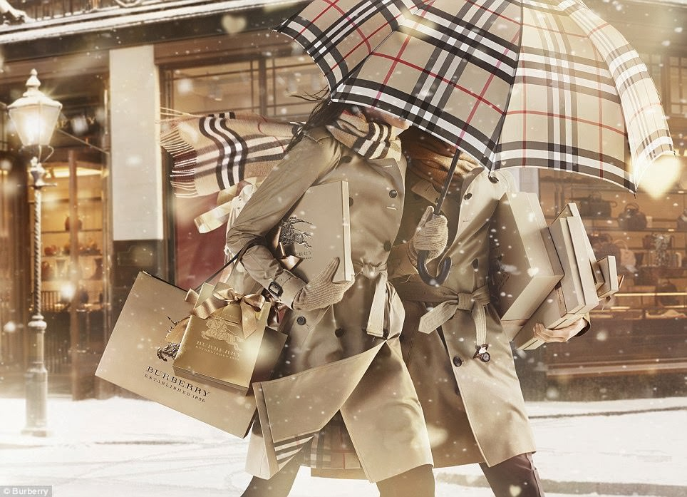 Burberry – from chavvy to tech-savvy.