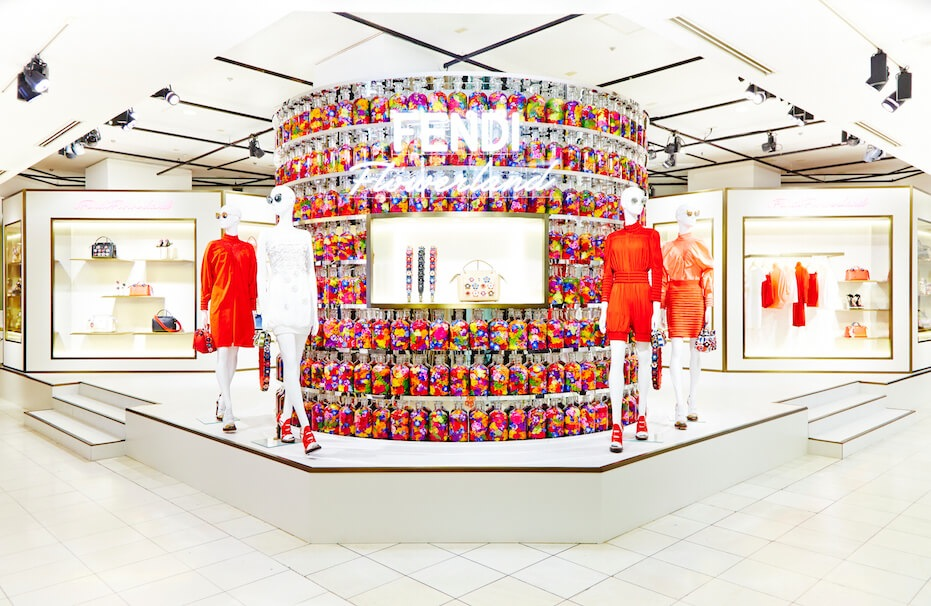 The immersive luxury retail experience: Burberry, Fendi, Givenchy & Marc Jacobs