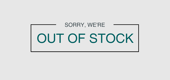 Out Of Stock Sales