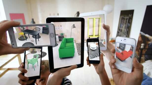 Ikea augmented reality application